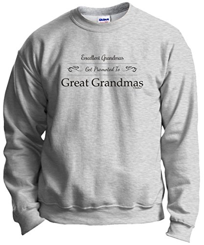 - ThisWear Gift Great Grandma Gift Grandma Gift Grandma Gifts Excellent Grandmas Get Promoted to Great Grandmas Crew
