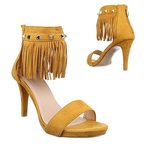 Plataforma Ital Design Design Ital amarillo Mujer Plataforma amarillo Mujer z6zqwUFY