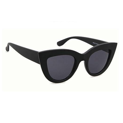 3fe61cda895 MINCL 2018 Sexy Designer Cateye Sunglasses Womens Fashion Vintage Sun  Glasses Shades UV400 (black