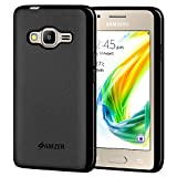 Amzer Pudding TPU Case for Samsung Z2 SM-Z200F - Black