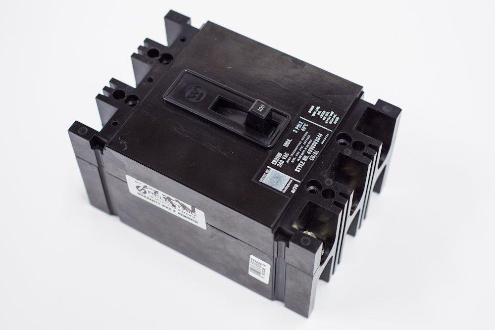 Westington EHB3030 4989D52G37 3P 30 AMP 480V Thermal Magnetic Circuit Breaker
