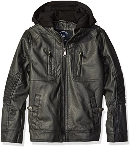 Urban Republic Ribbed Leather Jacket product image