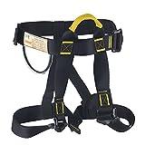 Oumers Climbing Harness, Safe Seat Belt for Indoor Rock Climbing, School Assignment Expanding Training, Tree Work Women Men Children Climbing Belts Rappelling Equip