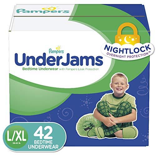 4x10 St/ück 4er Pack S//M Boy 17-29kg Pampers Windeln UnderJams Gr