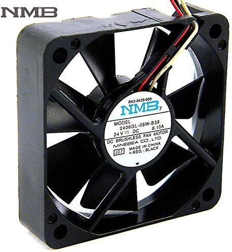 For NMB 2406GL-05W-B39 6CM DC 24V 0.1A 6015 60mm fan IPC inverter computer cooling fan
