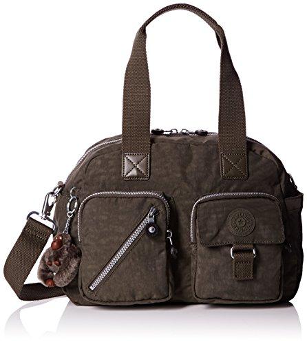 Kipling Womens Defea Shoulder Bag Cactus Khaki, One Size
