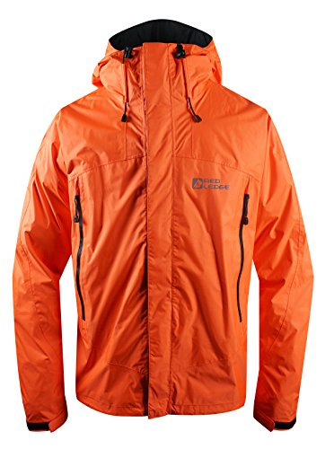 Red Ledge Men's Free Rein Parka, Hi Vis Orange, Large
