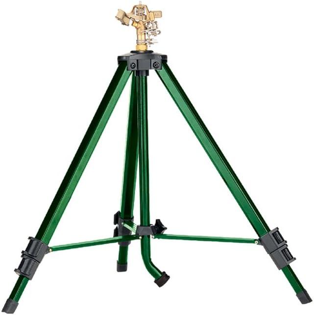 Orbit 58308-N Green Tripod Base - Most Affordable & Stable Sprinkler
