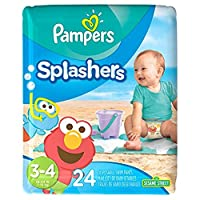 Pampers Splasher-Size 3-4,24 count