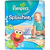 Pampers Splashers Disposable Swim Diapers, Size 3/4, 24 Count, JUMBO