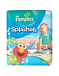 Pampers Splasher - sz 3-4 - 24 ct (Old Version) BOBEBE Online Baby Store From New York to Miami and Los Angeles
