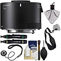 Sigma TC-2001 2x Teleconverter (for Canon EOS Cameras) with Sling Strap + Cleaning Kit