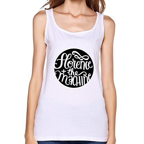 Florence And The Machine Fashion Tank Top For Women White