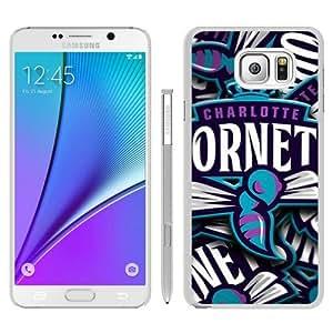 Hot Sale Samsung Galaxy Note 5 Case ,Charlotte Hornets 7 White Samsung Galaxy Note 5 Cover Unique And Beautiful Designed Phone Case