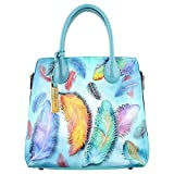 Anuschka Expandable Convertible Tote FFTS, Floating Feathers, One Size