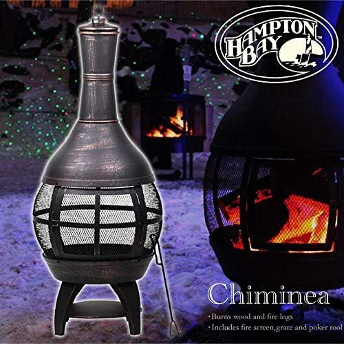Fire Pits & Outdoor Fireplaces Outdoor Cast Iron Chimenea Hampton ...