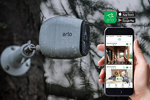 Arlo PRO - Wireless Home Security Camera System | Rechargeable, Night Vision, Indoor/Outdoor, HD Video, 2-Way Audio | Cloud Storage Included | 5 Camera Kit (VMS4530-100NAR) (Renewed)
