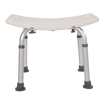 Mefeir Medical Spa Shower Bath Chair No Slip Seat,7 Adjustable Height Bathtub  Stool