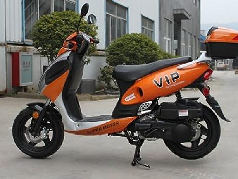Amazon.com: Motocicleta scooter Powermax-150 de gas, de la ...