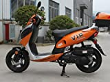 TaoTao POWERMAX-150 Gas Street Legal Scooter - Orange