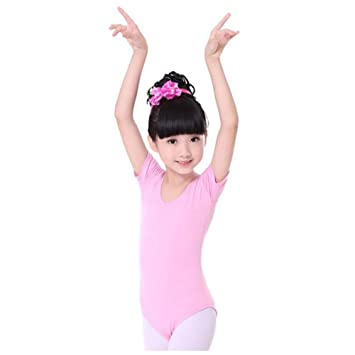e159a8510eb5 Image Unavailable. Image not available for. Color: George Jimmy Gymnastics  Leotards for Girls Leotard Dance Costumes Sportswear Dancewear Pink