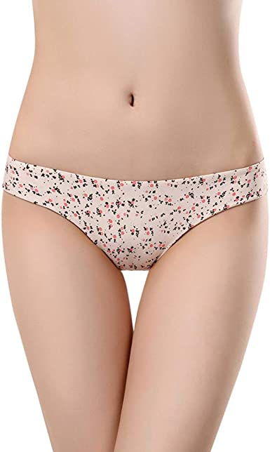 Plus Size Thong Lingerie Seamless Underwear Hollow Out Lace Panties Thin