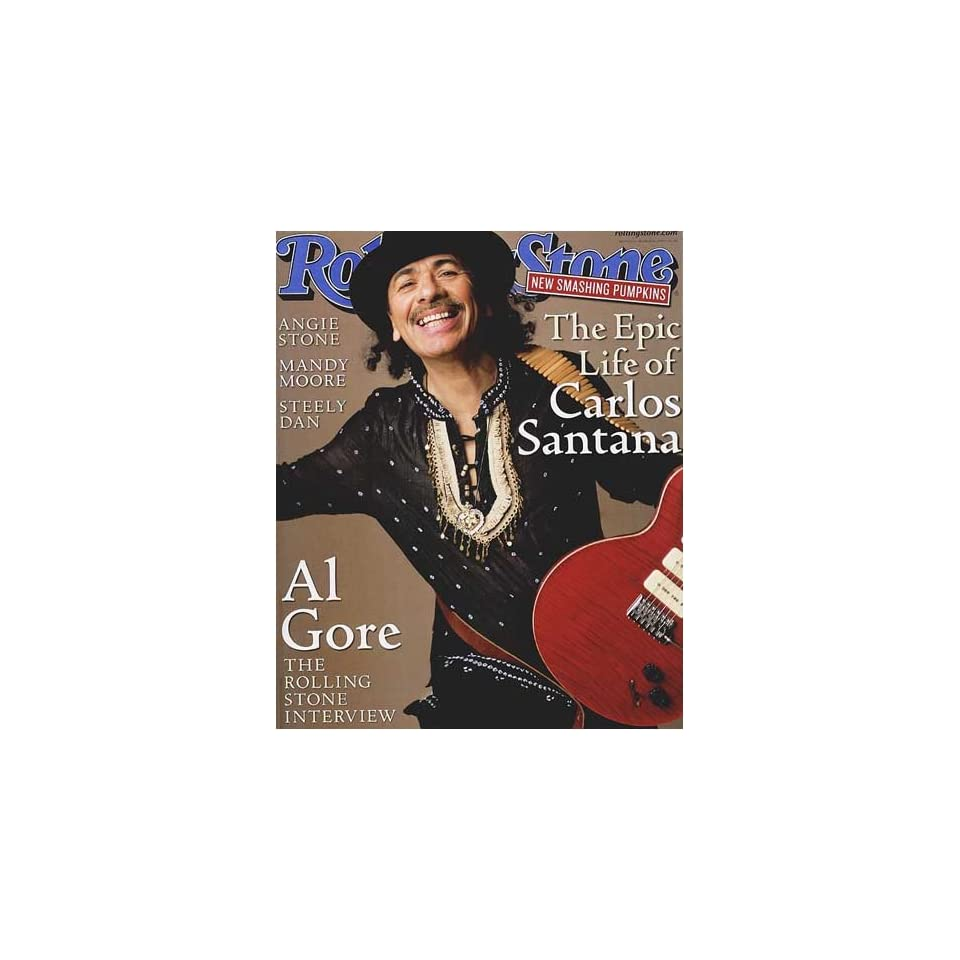 Rolling Stone Magazine #836 March 16 2000 Santana (Single Back Issue)