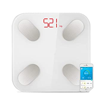Mini Smart Bathroom Weight Mi Scales Fat Percentage Bascula Digital Peso Corporal Led Display Electronic Floor