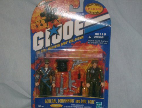 GI JOE Special Collectors Edition Two Pack General Tomahawk and Dial Tone - Gi Joe Collectors