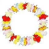 50pcs Fashion Hawaii Tropical Hula Grass Dance Flower Necklace Garlands