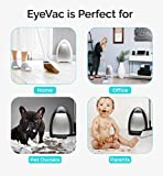 eye vac evh b home touchless stationary vacuum black