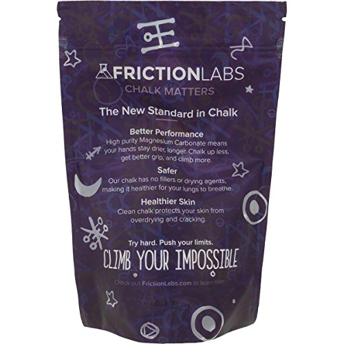 FrictionLabs Magic Refillable Chalk Sphere | Chalk Ball 2.2 Ounce | The New Standard in Chalk