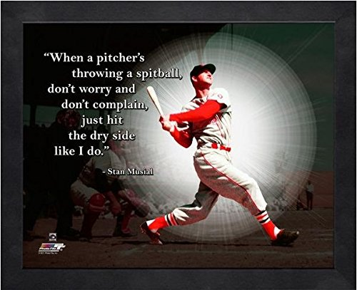 (Stan Musial St. Louis Cardinals ProQuotes Photo (Size: 9