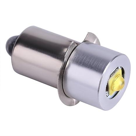 Asixx Bombilla LED, LED Linterna Bombilla, Bombilla de luz, 6-24V,