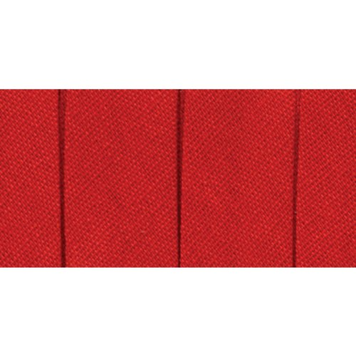 Wrights 117-200-065 Single Fold Bias Tape, Red, 4-Yard (Fold Bias Tape)
