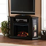 Southern Enterprises Ponoma Convertible Media Electric Fireplace Review