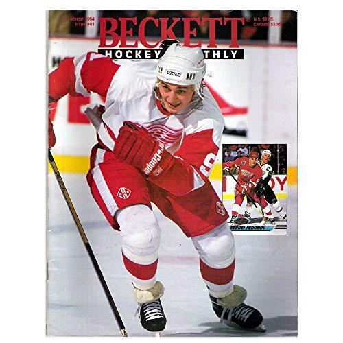 Beckett Hockey Monthly March 1994 Issue #41 Sergi Fedorov & Keith Tkachuk (Nhl Sergei Fedorov)