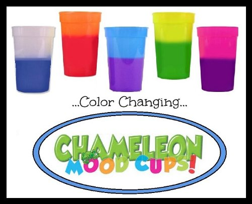 (Chameleon Mood Cups Asst'd 17oz (5 Colors/2 ea))