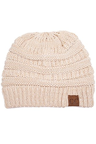 8f37c668b36 ScarvesMe CC Beanie Mix Color Two Tone Hat (10) at Amazon Women s Clothing  store