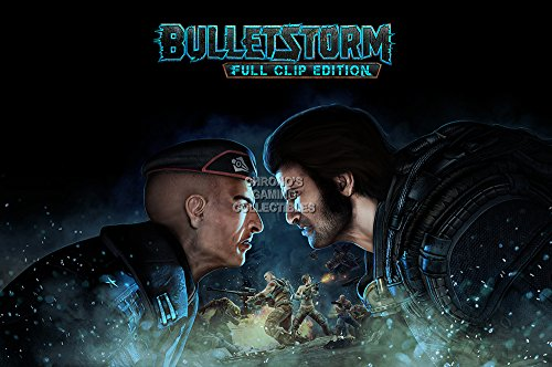 """CGC Huge Poster GLOSSY FINISH - Bulletstorm Full Clip Edition PS4 PS3 XBOX ONE 360 - EXT732 (16"""" x 24"""" (41cm x 61cm))"""
