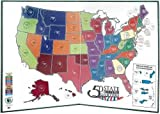 Littleton 50 State Quarter Display Map Folder