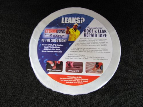 Eternabond EB-RW041-50 RoofSeal Sealant Tape, White - 1.5