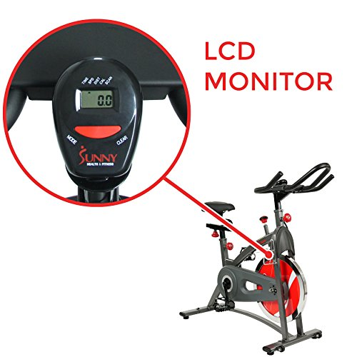 Sunny Health & Fitness Belt Drive Indoor Cycling Bike SF-B1423 by Sunny Health & Fitness (Image #3)