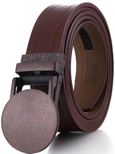 [Marino Genuine Leather belt for Men, 1.5