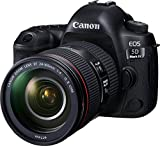 Canon EOS 5D Mark IV Full Frame Digital SLR Camera with EF 24-105mm f/4L IS II USM Lens Kit For Sale