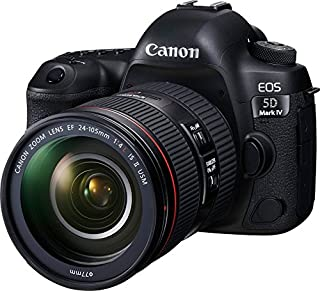 Canon EOS 5D Mark IV Full Frame Digital SLR Camera with EF 24-105mm f/4L IS II USM Lens Kit (B01KURGS9Y) | Amazon price tracker / tracking, Amazon price history charts, Amazon price watches, Amazon price drop alerts