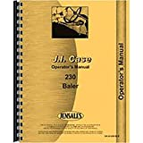 New Case 230 Baler Operator's Manual