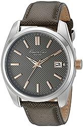 Kenneth Cole New York Men's 10024357 Classic Analog Display Japanese Quartz Grey Watch