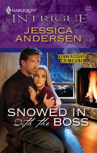 book cover of Snowed in with the Boss