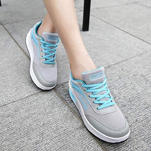 Basse Qui Augmente Imperméables Doux Avec Fond Chaussures Femme Les Maille Sneakers Le Extérieure Abcone Femme wqftYat